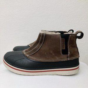 Crocs 10 Men's All Cast Duck Boots